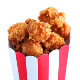 Popcorn de poulet pané 1kg