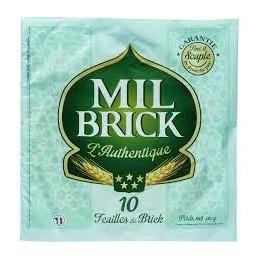 Feuilles de Brick rondes x 10