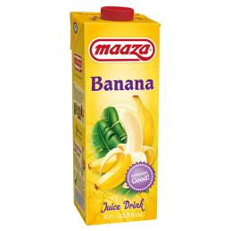 Maaza banana 12 X 1 L