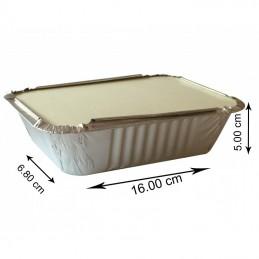 No6A Aluminium Container Avec Couvecle 500 pièce