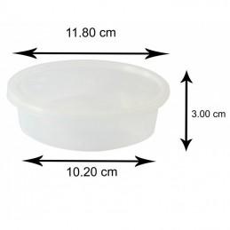 8Oz Plastic Boite Avec Couvercle 250 ml x 250 pièces