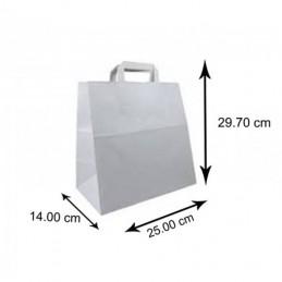 Blanc Grands Sacs Papier 250 pièces