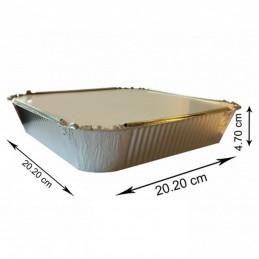 No9 Aluminium Container Avec Couvecle 200 pièces