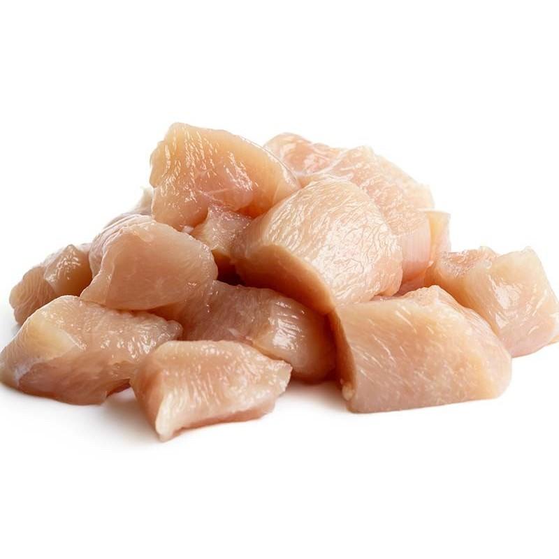 Filet de poulet nature en cubes 10kg