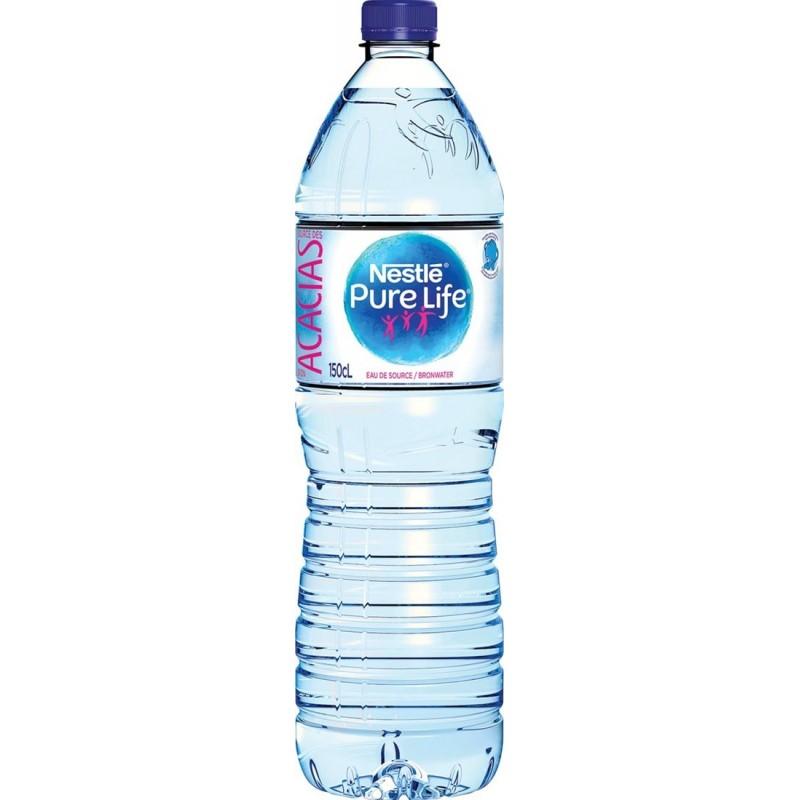 Nestlé eau 6 x 1.5L