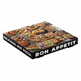 Pizza Boite Blanc 40 cm