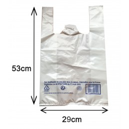 Sac Plastique réutilisable Grand
