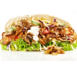 Lamelles de kebab cuites 1Kg